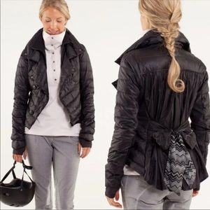LULULEMON Pedal Power Black Puffer Jacket